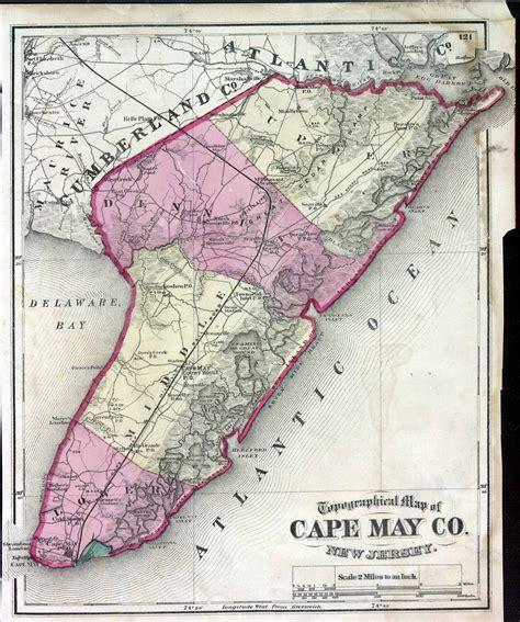 maps cape may county nj 1872