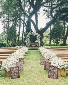 outdoor wedding aisle 25 best ideas about outdoor wedding aisles on outdoor wedding aisle decor wedding
