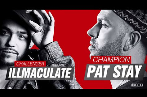 pat stay to illmaculate for wd5 title match battle rap