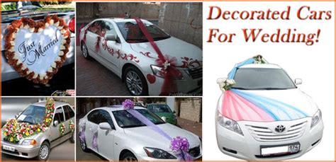 decorated car  wedding wedding car hire hyderabad
