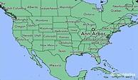 Where is Ann Arbor, MI? / Ann Arbor, Michigan Map ...