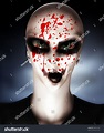 Evil Looking Alien Clown Stock Illustration 88964269 ...