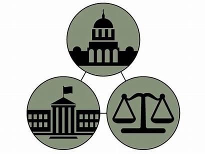 Branch Legislative Judicial Clipart Balance Power Action