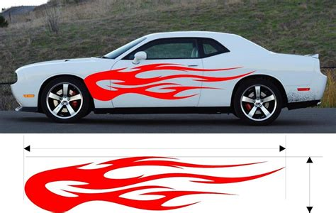 Boat Decals Flames by Custom Car Graphics Truck Decals Boat Graphics Car