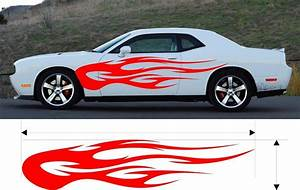 custom auto flame decal kits car decals autos post With custom auto lettering