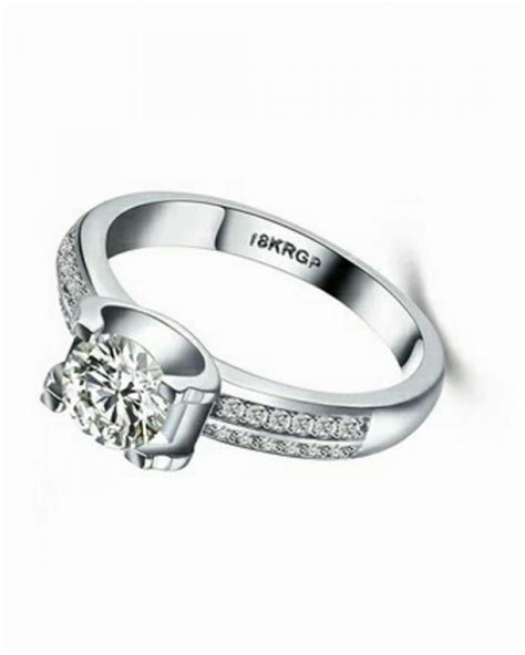 universal white gold engagement ring buy online jumia nigeria