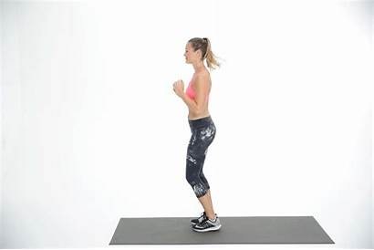 Lunge Jumps Jumping Jump Lunges Exercises Knees