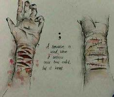 sad drawings
