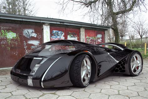 Concept Car Design By Urbano Rodriguez