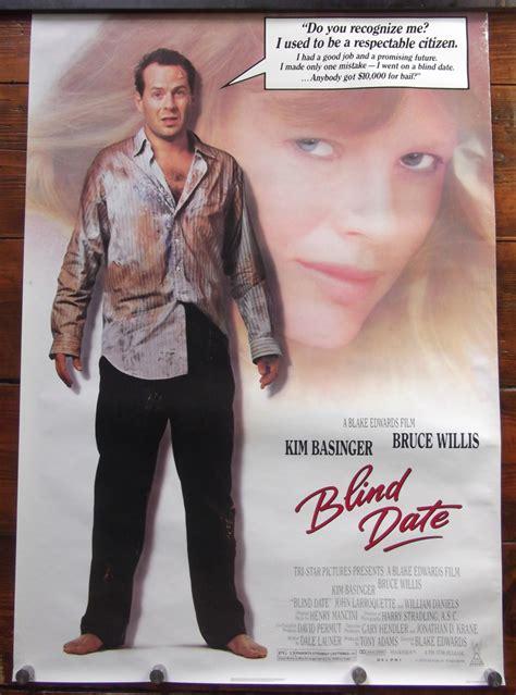 blind date  poster bruce willis kim basinger