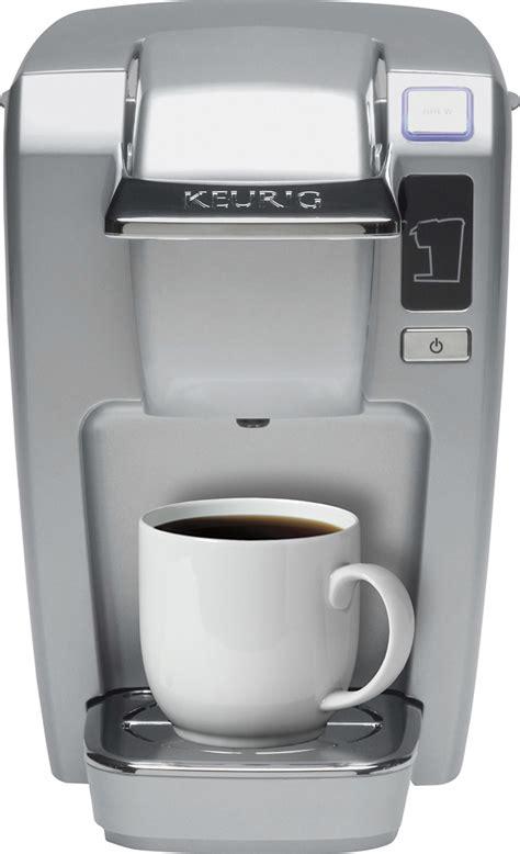 Cups of coffee, tea or hot chocolate. Best Buy: Keurig K-Mini K15 Single-Serve K-Cup Pod Coffee Maker Platinum 119250