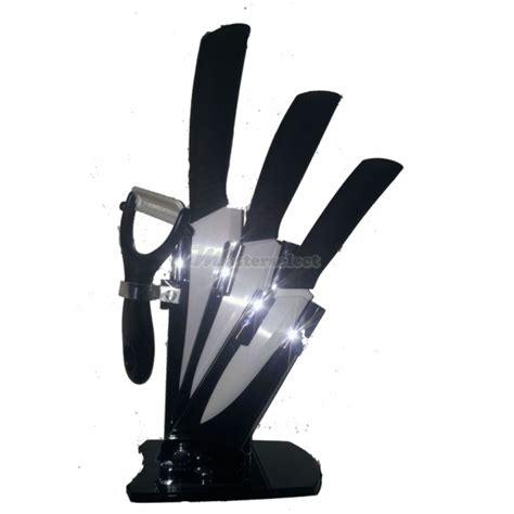 acheter des couteaux de cuisine bloc de 3 couteaux céramique un econome masterselect