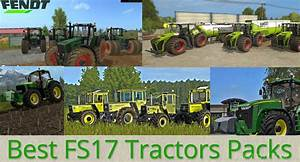 Best FS17 Tractors mods pack of 2017!