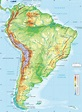 South America Map Physical - Lgq - South America Physical ...