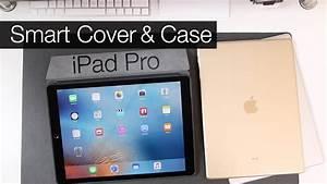 Apple iPad Pro: Smart Cover & Silicone Case - YouTube