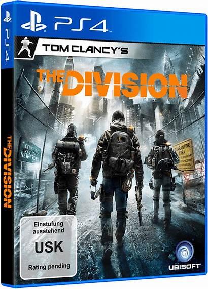 Division Ps4 3d Packshot Usk Ger Edition