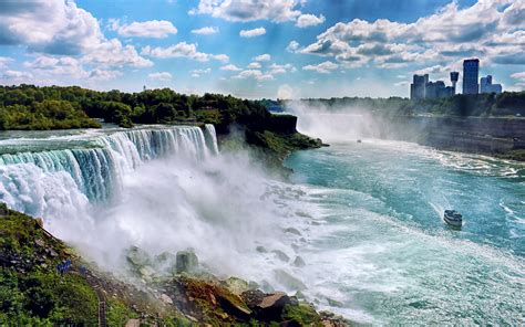Landscapes nature USA New York City Niagara Falls ...