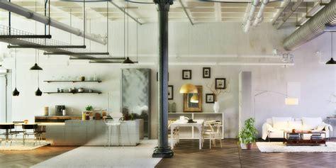 Loft Der Moderne Lebensstilloft Einrichtung Mit Buecherregalen by Loft Einrichtung Home Ideen
