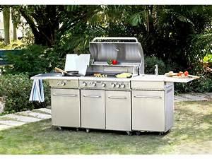 Barbecue Gaz Avec Plancha Et Grill : grill et plancha great photo barbecue au gaz brleurs feu ~ Melissatoandfro.com Idées de Décoration