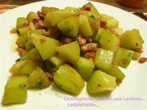 cuisiner la chayotte la chayotte ou christophine ladylettante