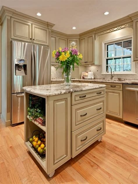 Amazing Island Kitchen Patterns For Small Kitchen  Home
