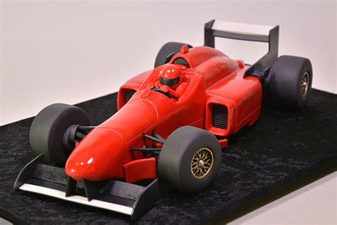 formula  racing car cake yeners