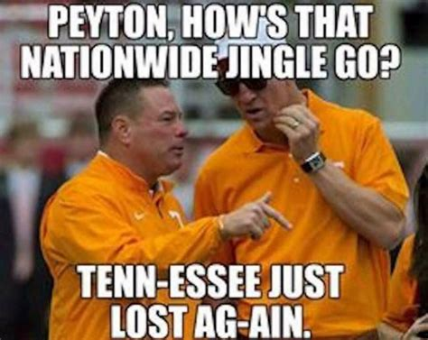 Funny College Football Memes - the tennessee memes are hilarious after the 41 0 loss to georgia here are the best ones go