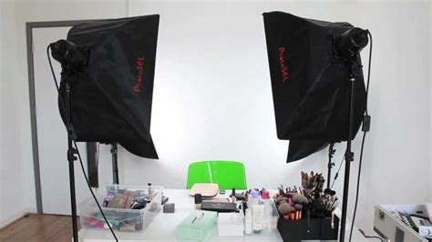 how to lighting set up for