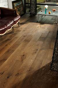 Oak Old Venice- wide plank hardwood flooring - Traditional