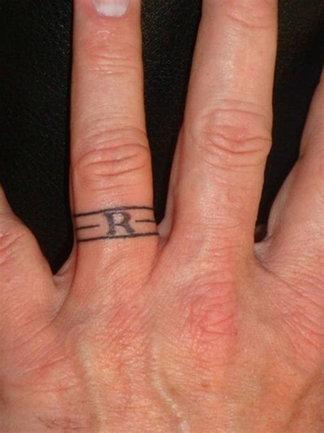 awesome wedding ring tattoos feed inspiration