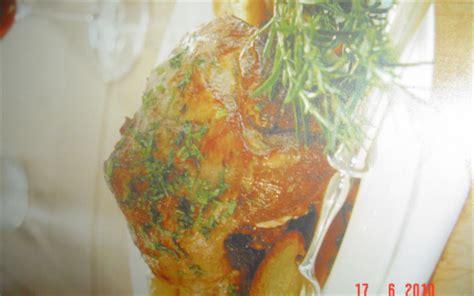 comment cuisiner un jarret de veau recette jarret de veau au four 750g