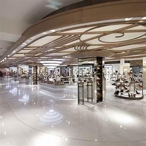 Harrods shoe salon by shed dezeen for Art deco interior shop