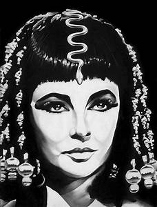 Cleopatra Drawing by Jeff Stroman