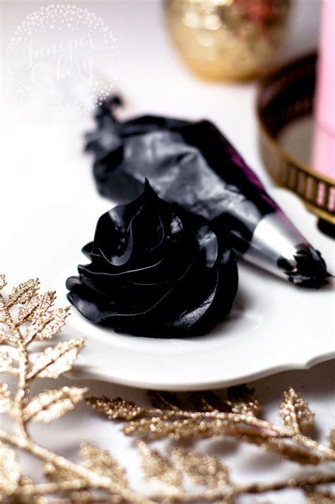 black frosting ideas  pinterest black cake
