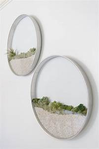 Circular framed planters add living art to your walls for Circular framed planters add living art to your walls