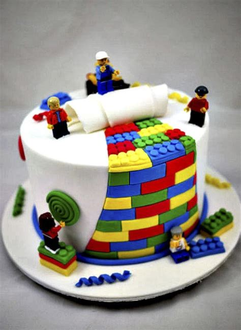 cakes ideas awesome lego party ideas party