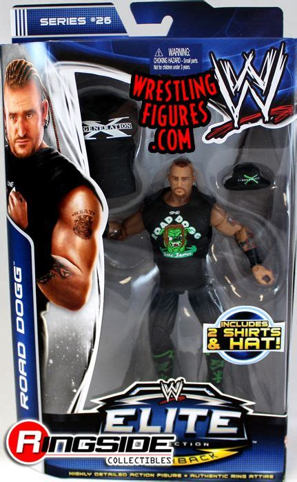 road dogg wwe elite  ringside collectibles