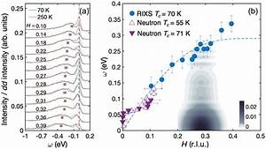A   Rixs Spectra For Hg1201 At Numerous Wave Vectors
