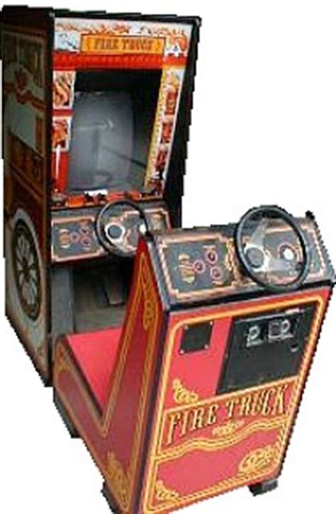 Fire Truck   Videogame by Atari
