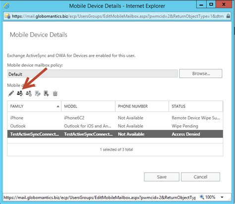 Mobile Exchange by How To Unblock A Mobile Device In Exchange Server