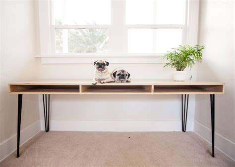 simple  inexpensive plywood desk woodworking