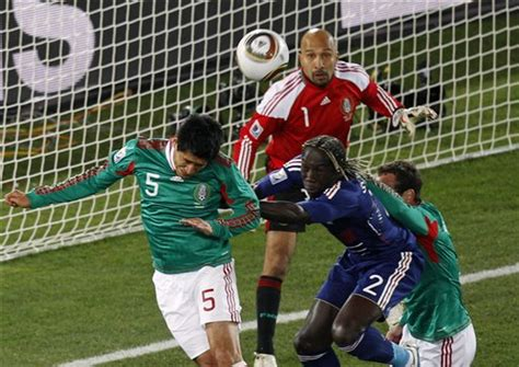 World Cup: Mexico vs France