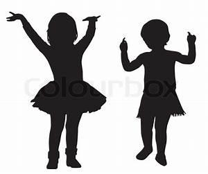 Children Dancing Silhouette | www.pixshark.com - Images ...