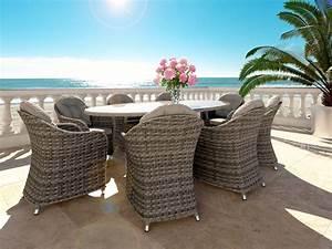 Table Resine Tressee : artelia fr table ronde et chaises r sine tress e ~ Edinachiropracticcenter.com Idées de Décoration