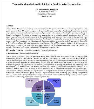 organizational analysis template   sample