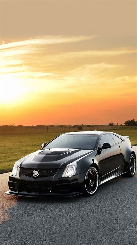 Hd Car Wallpapers For Iphone by Hennessey Cadillac Car Iphone 6s Wallpapers Hd