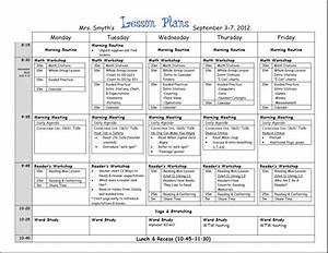 First week lesson plans first grade beginning of year for Yearly lesson plan template