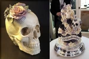 skull wedding cakes cakes cake magazine
