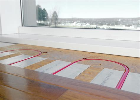 radiant floors for cooling above floor panels
