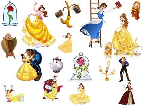 Beauty And The Beast Characters Pictures To Pin On